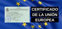 Certificado de la Unión Europea
